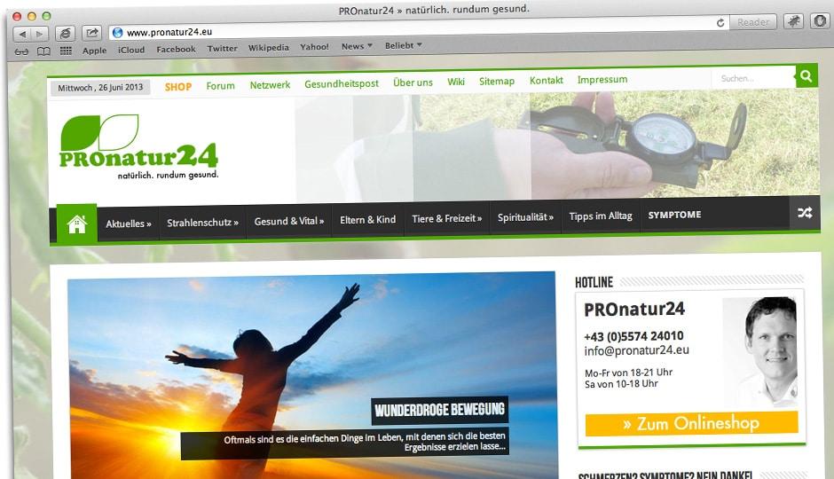 PROnatur24 2.0 in neuem Gewand