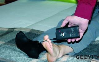 Elektrobiologische Messung im Bett