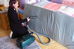 Strahlenschutzmatten richtig absaugen