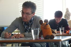 Prüfung Klaus Renner zum zertifizierten Geobiologen