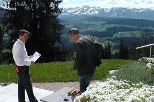 Prüfung zum zertifizierten Geobiologen Fredi Künzler