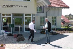 Prüfung zum zertifizierten Geobiologen Roland Richter
