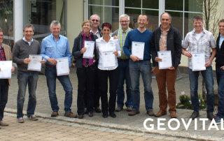 Prüfung zur Zertifizierung als Geobiologe