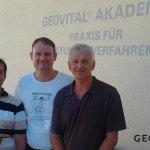 Sascha, Patrick (AUS) und Miro (SLO)