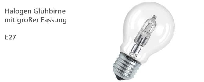 Halogen Leuchtmittel E27