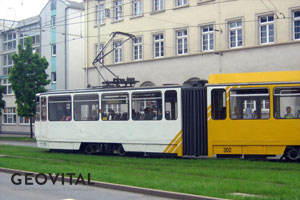 Elektrosmog Straßenbahn