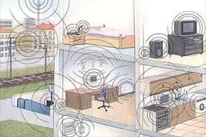 Quellen für Elektrosmog im Eigenheim