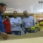 Bau einer körpergeformten Matratze