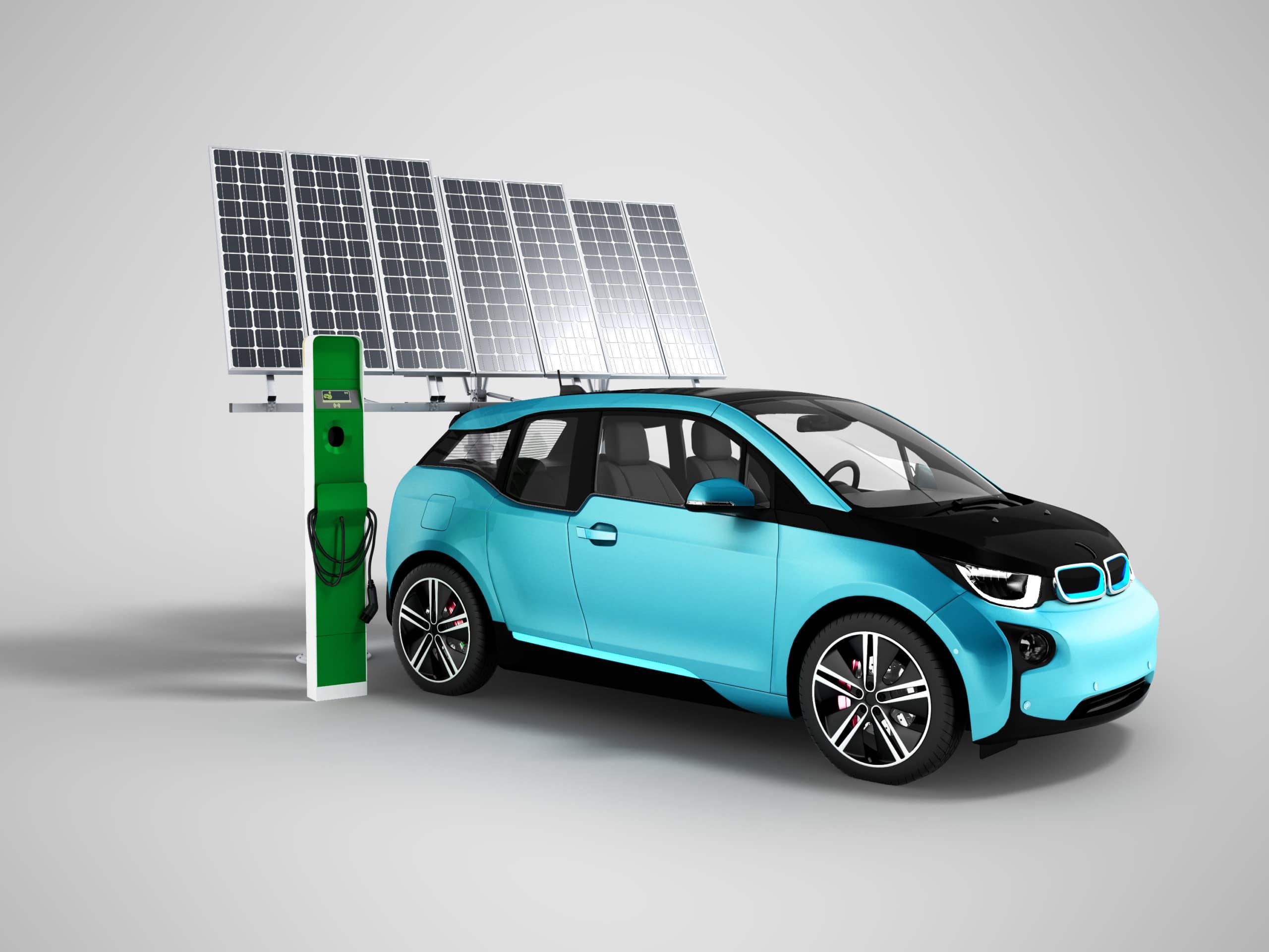 Elektrosmog E-Auto