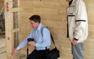 Elektrobiologie Beratung Holzbauweise